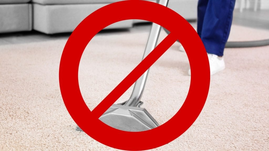 8 Reasons Why Steam Cleaning Is Bad For Your Carpet